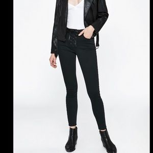 Pacsun Victoria black high rise jegging